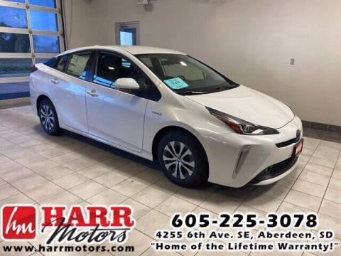 2021 Toyota Prius for sale at Harr's Redfield Ford in Redfield SD
