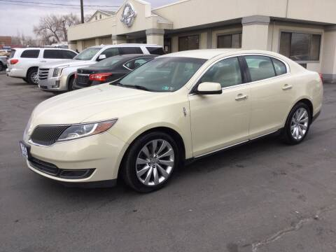 2014 Lincoln MKS for sale at Beutler Auto Sales in Clearfield UT
