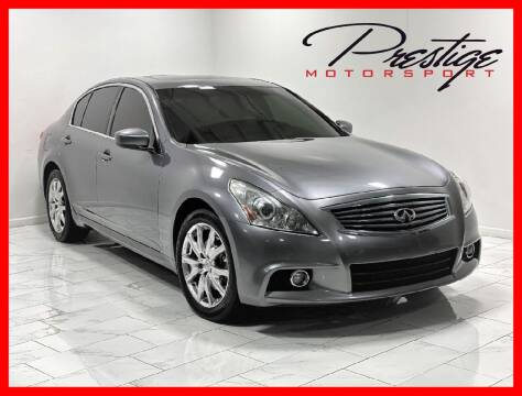 2011 Infiniti G37 Sedan for sale at Prestige Motorsport in Rancho Cordova CA