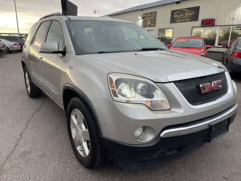 2007 GMC Acadia for sale at BELOW BOOK AUTO SALES in Idaho Falls ID