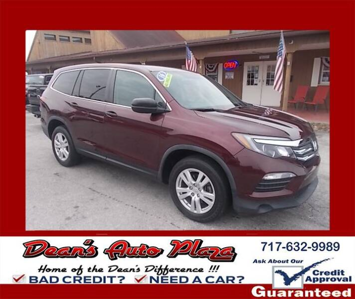 2016 Honda Pilot for sale at Dean's Auto Plaza in Hanover PA