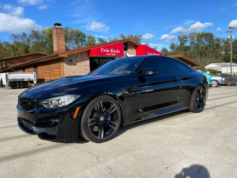 2015 BMW M4 for sale at Twin Rocks Auto Sales LLC in Uniontown PA