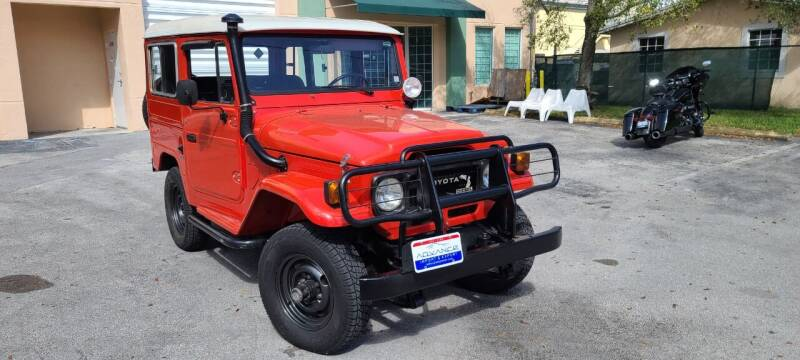 1989 Toyota Land Cruiser for sale at ADVANCE AUTOMALL in Doral FL