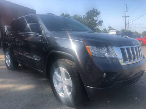 2013 Jeep Grand Cherokee for sale at Creekside Automotive in Lexington NC