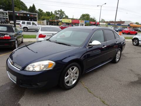 2011 Chevrolet Impala for sale at Cromax Automotive in Ann Arbor MI