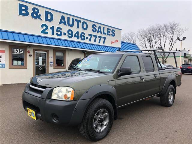 2003 Nissan Frontier for sale at B & D Auto Sales Inc. in Fairless Hills PA
