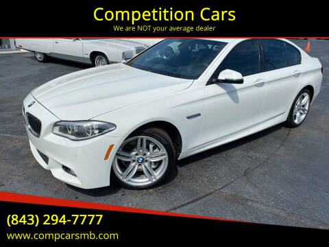 2014 BMW 5 Series for sale at Competition Cars in Myrtle Beach SC
