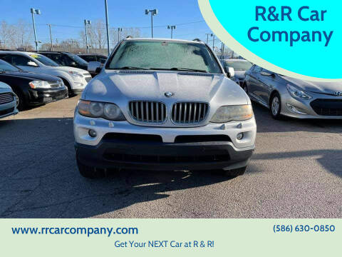 2006 BMW X5 for sale at R&R Car Company in Mount Clemens MI