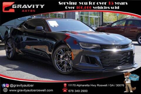 2017 Chevrolet Camaro for sale at Gravity Autos Roswell in Roswell GA