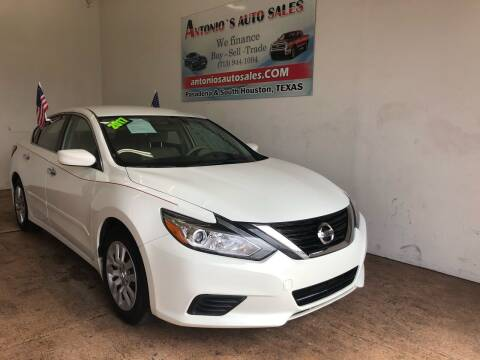 2017 Nissan Altima for sale at Antonio's Auto Sales - Antonio`s  2206 in Pasadena TX