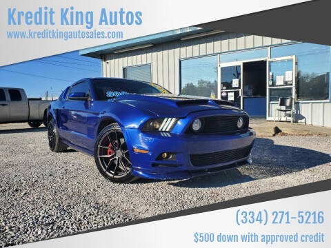 2014 Ford Mustang for sale at Kredit King Autos in Montgomery AL