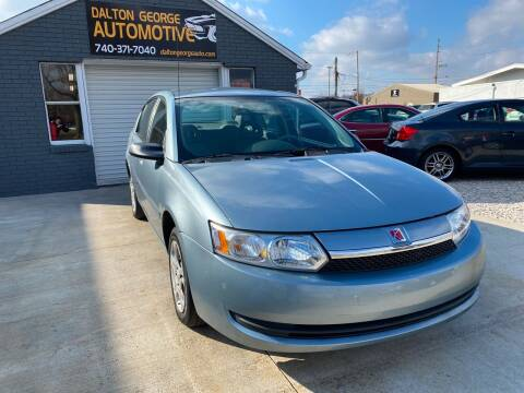 2003 Saturn Ion for sale at Dalton George Automotive in Marietta OH