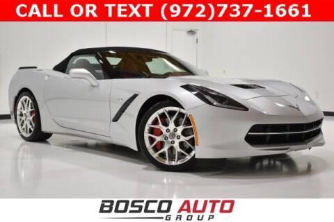 2019 Chevrolet Corvette for sale at Bosco Auto Group in Flower Mound TX