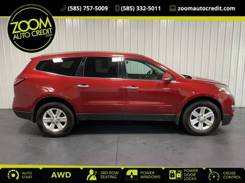 2013 Chevrolet Traverse for sale at ZoomAutoCredit.com in Elba NY