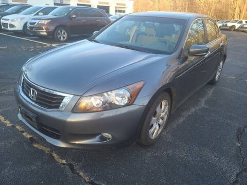 2008 Honda Accord for sale at Plymouthe Motors in Leominster MA