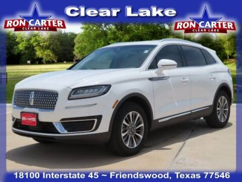 2020 Lincoln Nautilus for sale at Ron Carter  Clear Lake Used Cars in Houston TX