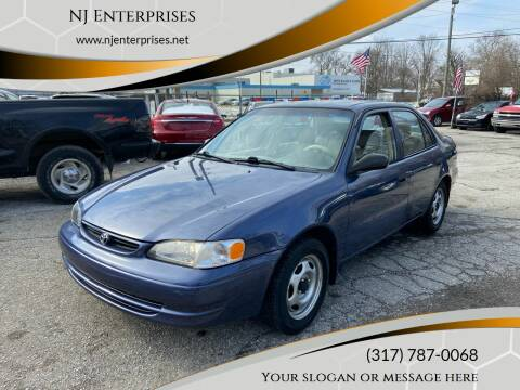 2000 Toyota Corolla for sale at NJ Enterprises in Indianapolis IN