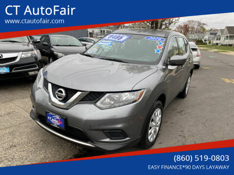 2016 Nissan Rogue for sale at CT AutoFair in West Hartford CT
