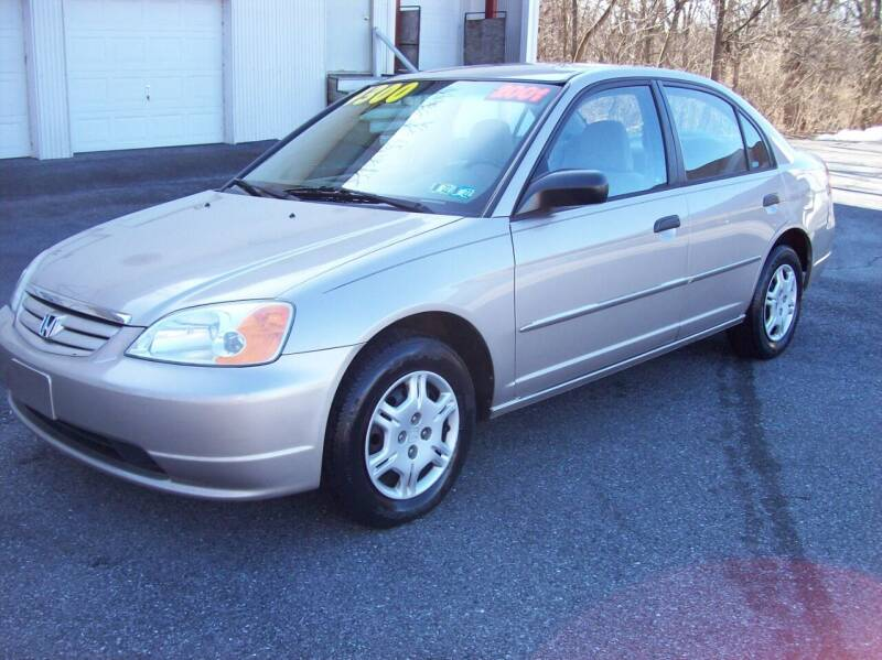 2001 Honda Civic for sale at Clift Auto Sales in Annville PA