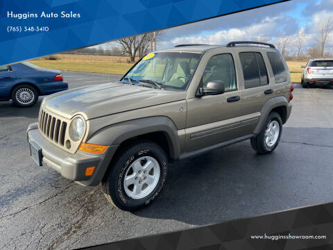 2007 Jeep Liberty for sale at Huggins Auto Sales in Hartford City IN