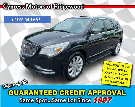 2015 Buick Enclave for sale at Cypress Motors of Ridgewood in Ridgewood NY