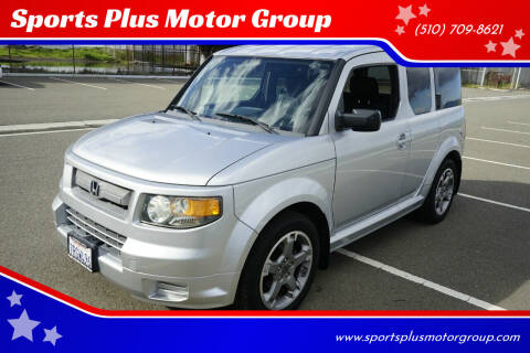 2007 Honda Element for sale at Sports Plus Motor Group LLC in Sunnyvale CA