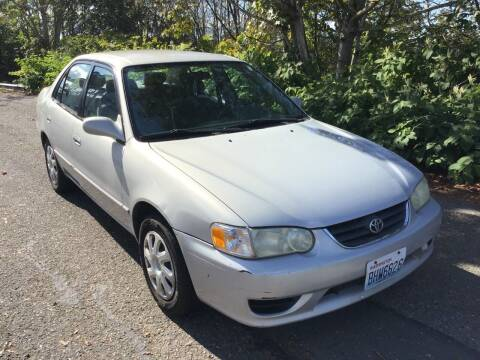 2001 Toyota Corolla for sale at KARMA AUTO SALES in Federal Way WA