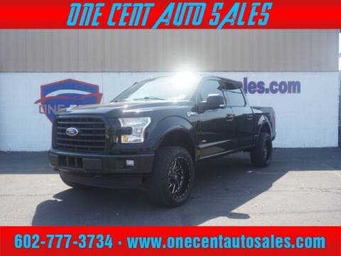 2016 Ford F-150 for sale at One Cent Auto Sales in Glendale AZ
