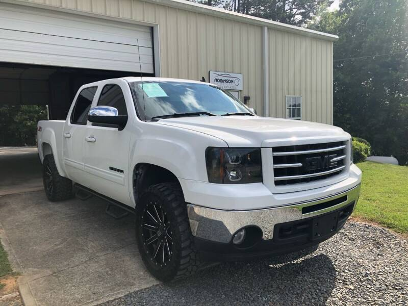 2013 GMC Sierra 1500 for sale at Robinson Automotive in Albemarle NC
