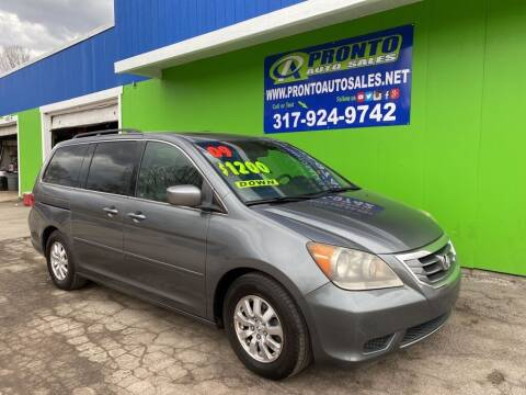 2009 Honda Odyssey for sale at PRONTO AUTO SALES INC in Indianapolis IN