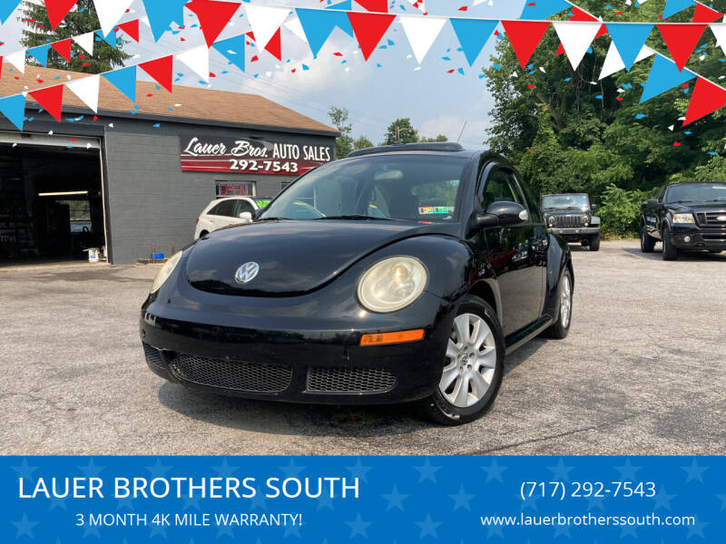 2008 Volkswagen New Beetle for sale at LAUER BROTHERS SOUTH in York PA