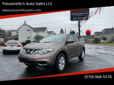 2012 Nissan Murano for sale at Passariello's Auto Sales LLC in Old Forge PA