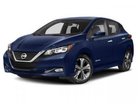 2021 Nissan LEAF for sale at Scott Evans Nissan in Carrollton GA