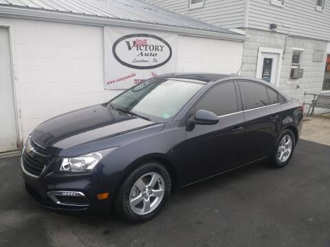 2015 Chevrolet Cruze for sale at VICTORY AUTO in Lewistown PA