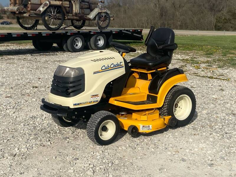2006 Cub Cadet GT2550 Lawn Mower for sale at Ken's Auto Sales & Repairs in New Bloomfield MO