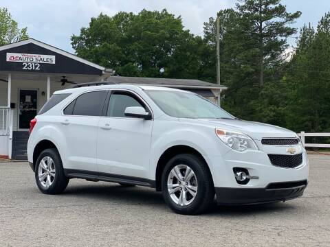 2015 Chevrolet Equinox for sale at CVC AUTO SALES in Durham NC