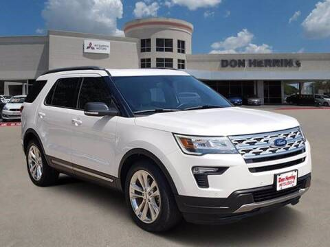 2019 Ford Explorer for sale at Don Herring Mitsubishi in Plano TX