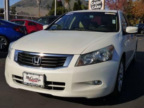 2010 Honda Accord for sale at McCarthy Wholesale in San Luis Obispo CA