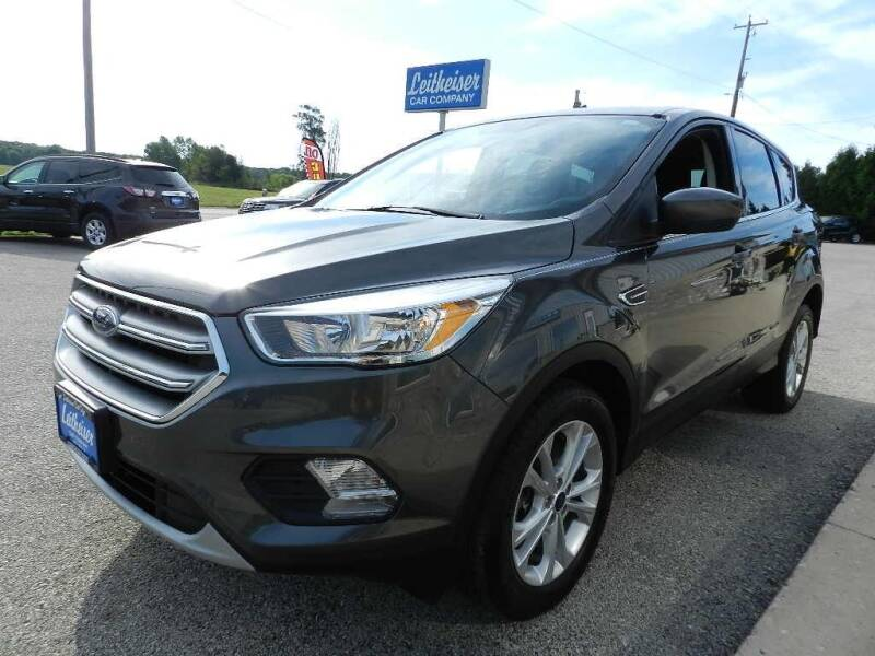 2017 Ford Escape for sale at Leitheiser Car Company in West Bend WI