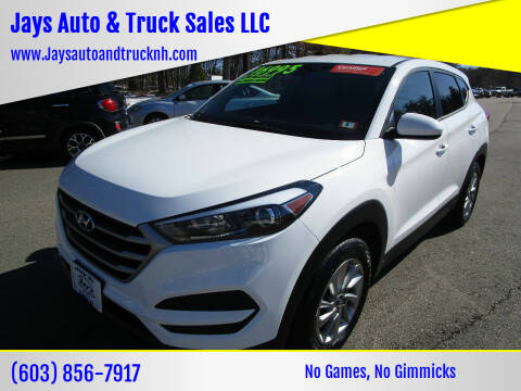 2018 Hyundai Tucson for sale at Jays Auto & Truck Sales LLC in Loudon NH