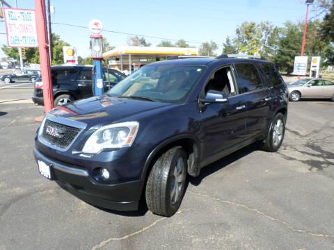 2012 GMC Acadia for sale at Premier Auto in Wheat Ridge CO