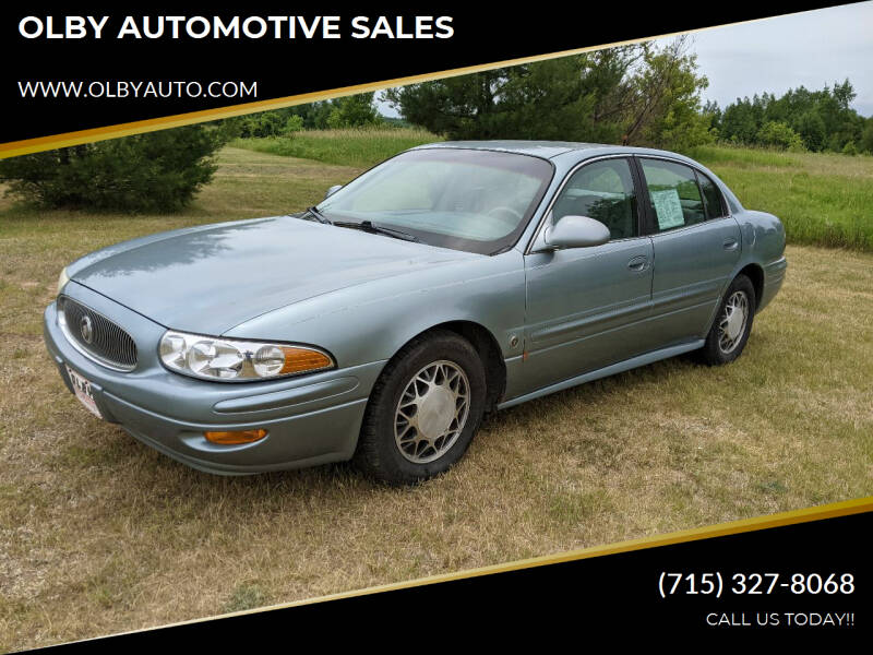 2003 Buick LeSabre for sale at OLBY AUTOMOTIVE SALES in Frederic WI