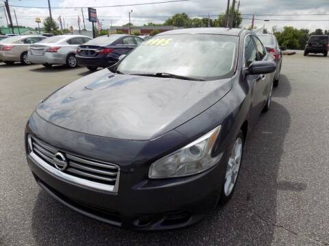 2012 Nissan Maxima for sale at Pro-Motion Motor Co in Lincolnton NC