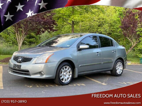 2012 Nissan Sentra for sale at Freedom Auto Sales in Chantilly VA