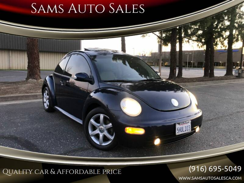2004 Volkswagen New Beetle for sale at Sams Auto Sales in North Highlands CA