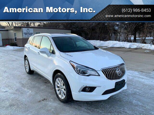 2017 Buick Envision for sale at American Motors, Inc. in Farmington MN