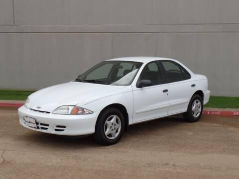 2002 Chevrolet Cavalier for sale at CROWN AUTOPLEX in Arlington TX