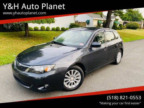2008 Subaru Impreza for sale at Y&H Auto Planet in West Sand Lake NY
