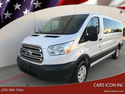 2015 Ford Transit Passenger for sale at CARS ICON INC in Rosenberg TX