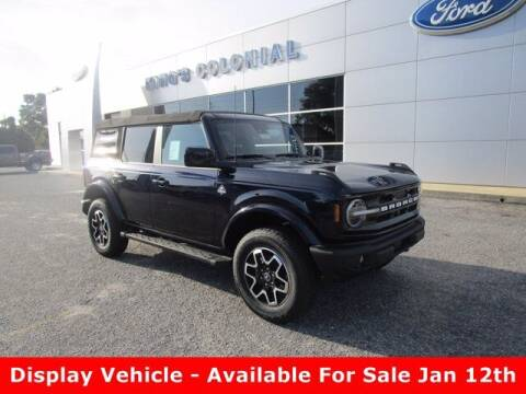 2021 Ford Bronco for sale at King's Colonial Ford in Brunswick GA